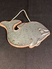 Whale Plaque Wall Stone Decor Old Wharf Trading Company