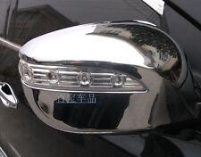 ABS Chrome Side Mirror Cover Trim 2pcs For Hyundai Tucson ix35 2010 - 2014