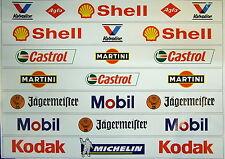 Carrera Universal/ 124 132 Aufkleber Tribüne, Geländer etc. Version B