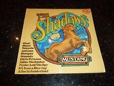 THE SHADOWS - Mustang - 1970s UK 12-track Vinyl LP