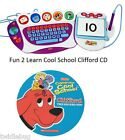 Fisher Price Fun 2 Learn Computer Cool School Software Clifford Game CD