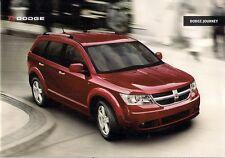 Dodge Journey 2008-09 UK Market Sales Brochure 2.4 2.0 CRD SE SXT RT