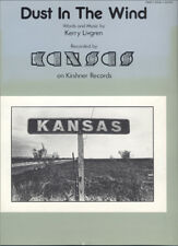 KANSAS – Dust In The Wind 1978 SHEET MUSIC NR