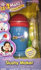 EZ 2 Make ICEE Slushy Maker Child Cook Set Kids Cool Treats Cooking Flavored Ice