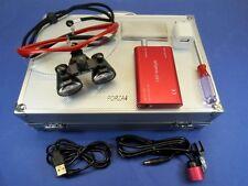 Dental Loupes Binocular Surgical Led Glasses 35x 420mm Red Optical Light Lamp