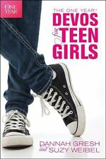 The One Year Devos for Teen Girls (Paperback or Softback)