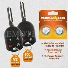 2 For Ford 2011 2012 2013 2014 2015 2016 F150 F350 Keyless Remote Start Key Fob Fits Ford