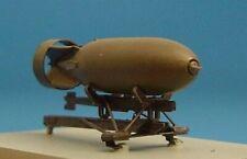 CLEARANCE! NEW 1:48 Brengun 48003 Resin British 500lb bomb & etched bomb rack