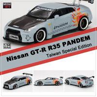 1//64 Nissan Skyline GT-R R35 Grey Diecast Car Model Toy Collection Gift NIB