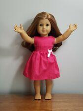 Custom American Girl Doll - Freckles, Short Red Hair, Green Eyes, #37