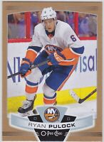 19/20 OPC...RYAN PULOCK...GOLD...SP...# 187...ISLANDERS...FREE COMBINED SHIPPING