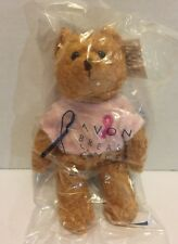 2001 Avon Breast Cancer Crusade Bean Bag Bear China - New