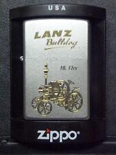 Zippo Sturmfeuerzeug Lanz Bulldog Trecker HL12er Gravur