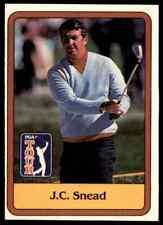 1981 DONRUSS GOLF PGA TOUR J.C. SNEAD #54