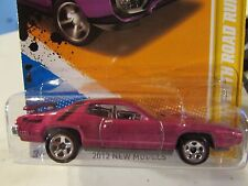 Hot Wheels '71 Plymouth Road Runner 2012 New Models Purple