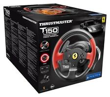 NEW THRUSTMASTER T150 FERRARI 4168054 RACING WHEEL + PEDALS FOR PC PS3 PS4