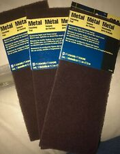 3M Hand Sanding Metal Finishing Pad, 4-3/8
