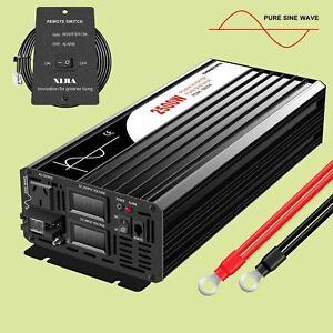 2500w (peak5000W)DC 12/24/48V to AC240V Pure Sine Wave  inverter RV solar