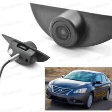 Full HD CCD Car Front View Camera Logo Embedded New for Nissan Sentra 2013-2018