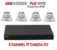 Hikvision DS-7608NI-E2/8P 8CH NVR & 4pcs DS-2CD2342WD-I 4MP Turret Camera Kit