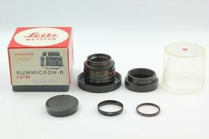 【MINT in Box w/ Hood】 Leica Summicron-r 50mm F2 3-cam Lens for R from JAPAN