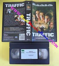 VHS film TRAFFIC 2001 Michael Douglas Catherina Zeta Jones CVC (F1*) no dvd