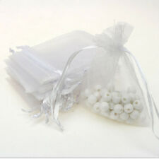 12PCS 7*9cm Jewelry Gift Pouch Organza Portable Bags Wedding New Year Favors New