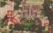 New Orleans, LOUISANA - Loyola University - LINEN 1943 - FREE MILITARY MAIL