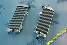 Right+Left Aluminum Alloy Radiator Fit KTM 125/150 SX/EXC 250/350 SX-F 2016-2018