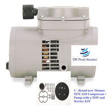 New Thomas 927ca18 Compressorvacuum Pump With A Service Kit Sk927 2yr Warranty