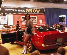 "'68 Mustang Mach 1 Concept Car 1968 Show Girl Pin Up Model 8""x 10"" Photo 168"