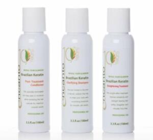 ENCANTO Brazilian Keratin Treatment Hair Straightening  SET - 3 x 100mL