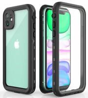 For iPhone 11 / 11 Pro Max Case Waterproof Shockproof Dirtproof Screen Protector