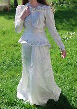**Ladies, Vintage, 40s, Ivory, Wedding, Party, Dress, size 8