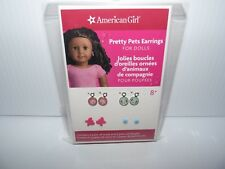 American Girl Doll Pretty Pets Fun Earrings NEW!!