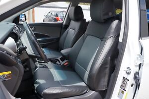 IGGEE S.LEATHER CUSTOM FIT SEAT COVERS for HYUNDAI SANTA FE 13 COLORS AVAILABLE