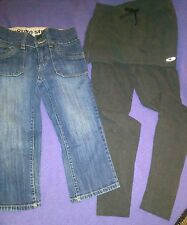 girls mossimo supply co.capris and champion athletic pants sz 10 GUC!