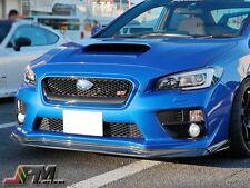 For Subaru 2015+ WRX & STI Only VR Type Carbon Fiber Front Bumper Add On Lip