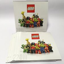 LEGO 2011 Catalogue X 10 - Cars Spongebob Star Wars Harry Potter City Minifigure