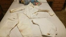 Vintage Triplette 3 Piece Fencing Outfit Size 42 Jacket Pants Right Side Protect