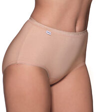 Charnos Cotton Briefs 2pack Maxi Sizes 10 12 14 16 18 20 18 Nude