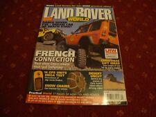 LAND ROVER WORLD MAGAZINE   Jan 2004
