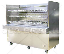 BRAZILIAN CHARCOAL GRILL FOR BBQ 53 SKEWERS - PROFESSIONAL GRADE - READY TO SHIP