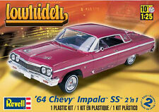 Revell 1/25 '64 Chevy Impala Stock or  Lowrider Plastic Model Kit 85-2574 852574