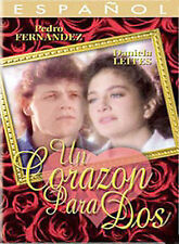 Un Corazon Para Dos DVD, 2004 PEDRO PEDRITO FERNANDEZ,  NEW..