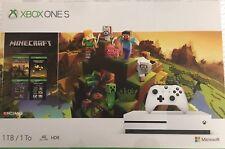 Microsoft XBOX ONE S 1TB  Minecraft Creators Limited Edition Bundle NEW