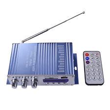 DC 12V Mini Auto Car Motorcycle Home FM Hi-Fi Stereo Audio Amplifier AMP MA943
