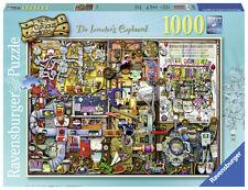 RAVENSBURGER PUZZLE*1000 TEILE*COLIN THOMPSON*THE INVENTOR'S CUPBOARD*RARITÄT