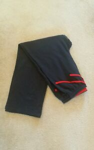 """Demo Boys Navy Jog Bottoms School P.E wide leg Waist 32"""" Leg 30"""" 14-16 yrs New"""