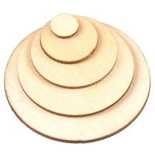 Holzscheibe Rundscheibe Größe wählbar 18 mm stark Kreis Scheibe